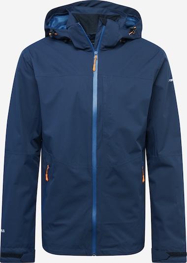 ICEPEAK Sportjacke 'BARI' in dunkelblau / weiß, Produktansicht