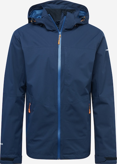 ICEPEAK Sportjas 'BARI' in de kleur Donkerblauw / Wit, Productweergave