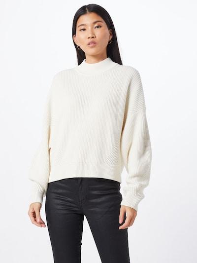 BOSS Pullover 'Ismeni' in naturweiß, Modelansicht