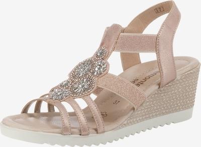 REMONTE Sandaletten in beige / naturweiß, Produktansicht