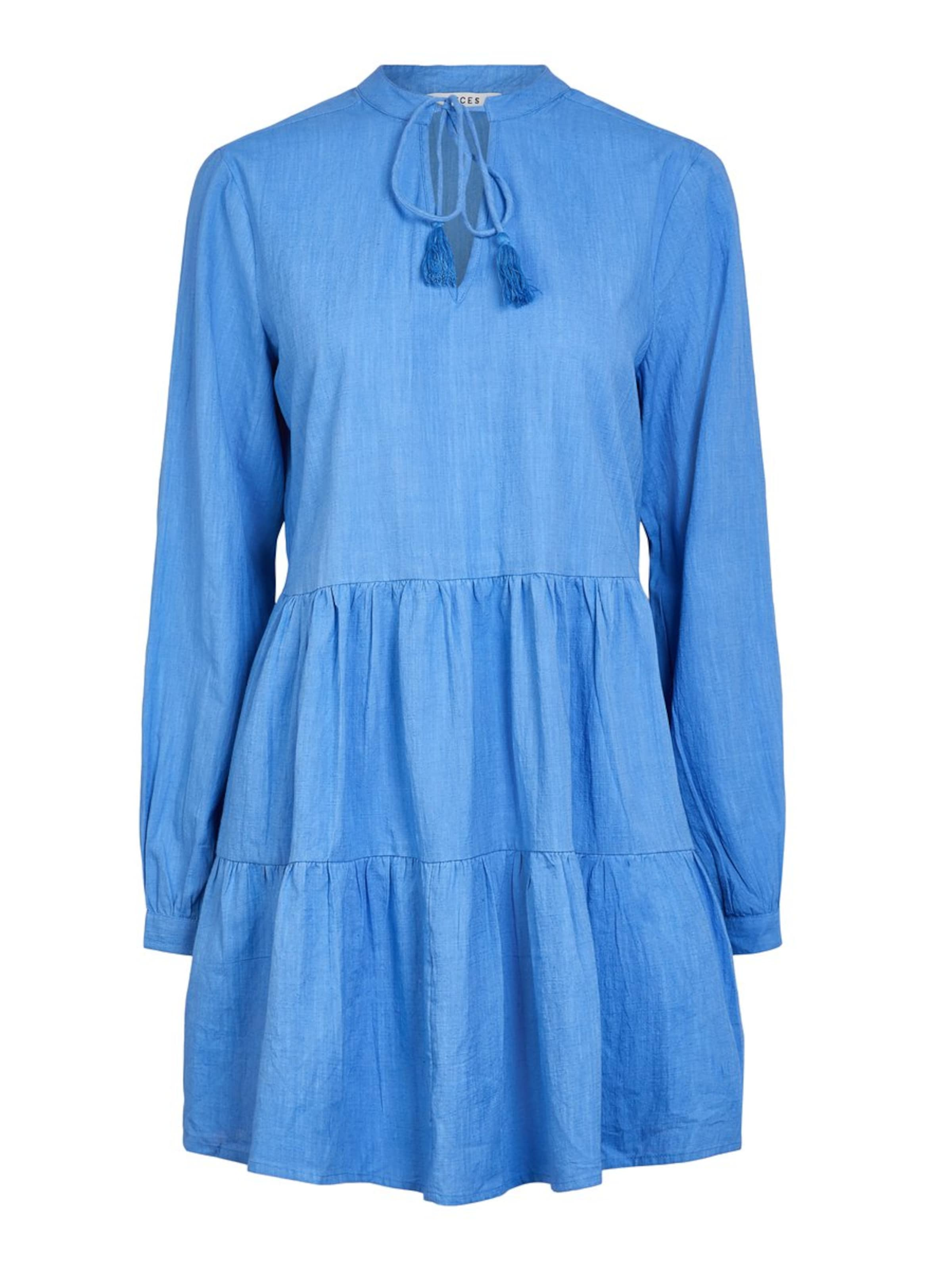 Blau Pieces Pieces In Kleid In Kleid 8kOnw0P