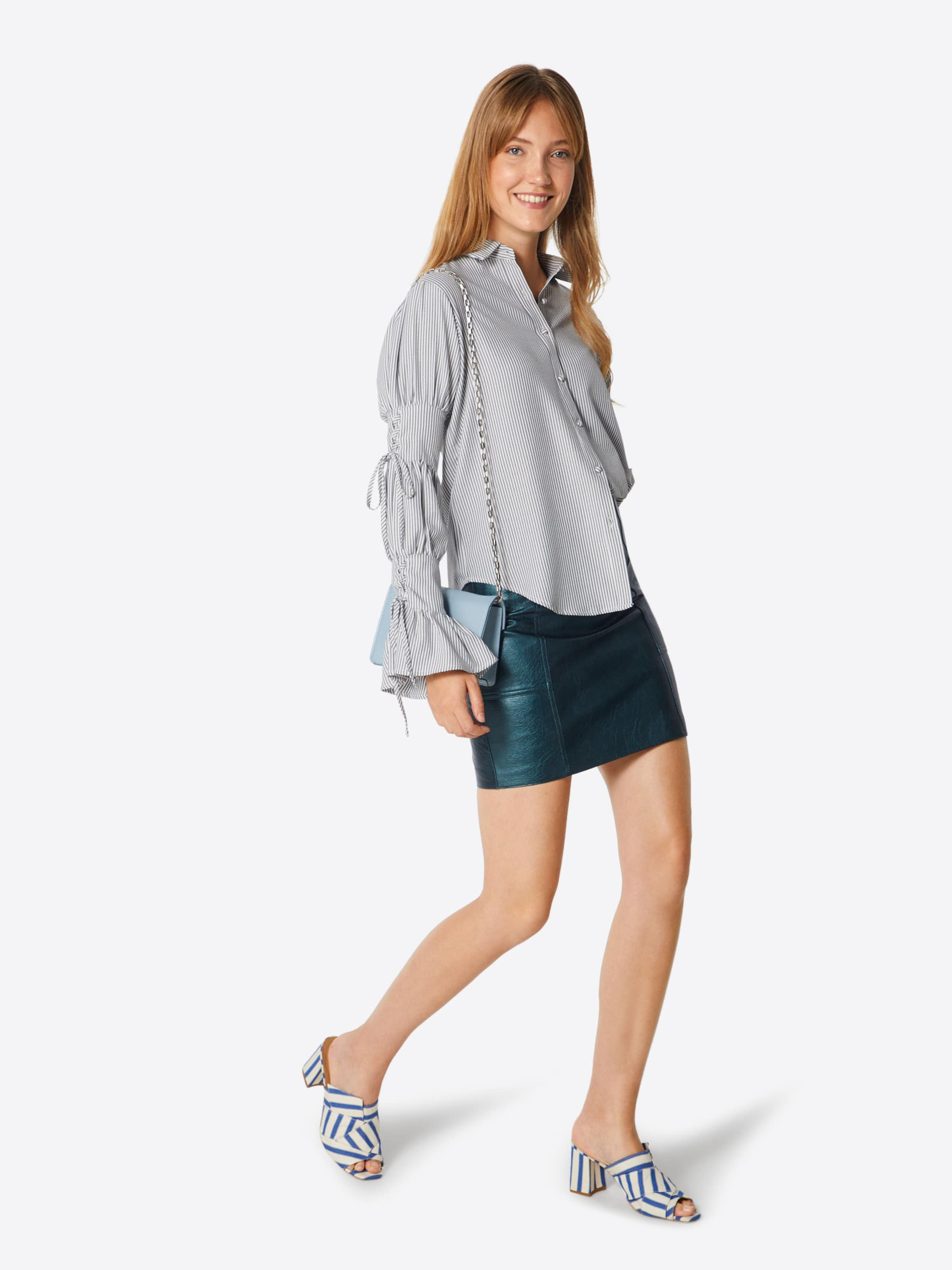 Pepe Smaragd Jeans Minirock 'sara' In Yfb76gy
