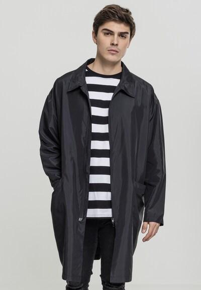 Urban Classics Oversized Coat in schwarz, Modelansicht