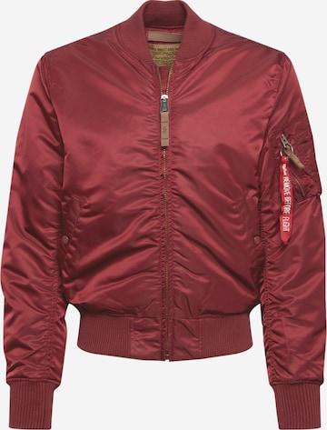 ALPHA INDUSTRIES Kevad-sügisjope 'MA-1 VF 59', värv punane