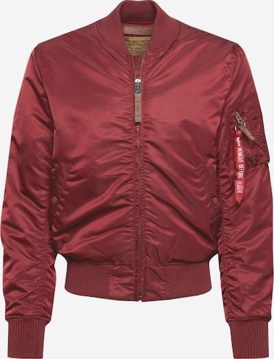 burgundi vörös ALPHA INDUSTRIES Átmeneti dzseki 'MA-1 VF 59', Termék nézet