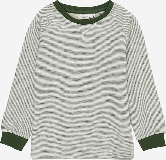 NAME IT Sweatshirt 'VILMAR' in tanne / weiß, Produktansicht