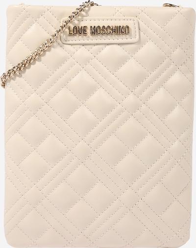 testszínű / arany Love Moschino Válltáska 'Borsa': Elölnézet