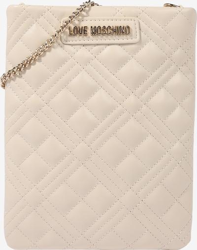 Love Moschino Sac à bandoulière 'Borsa' en nude / or, Vue avec produit