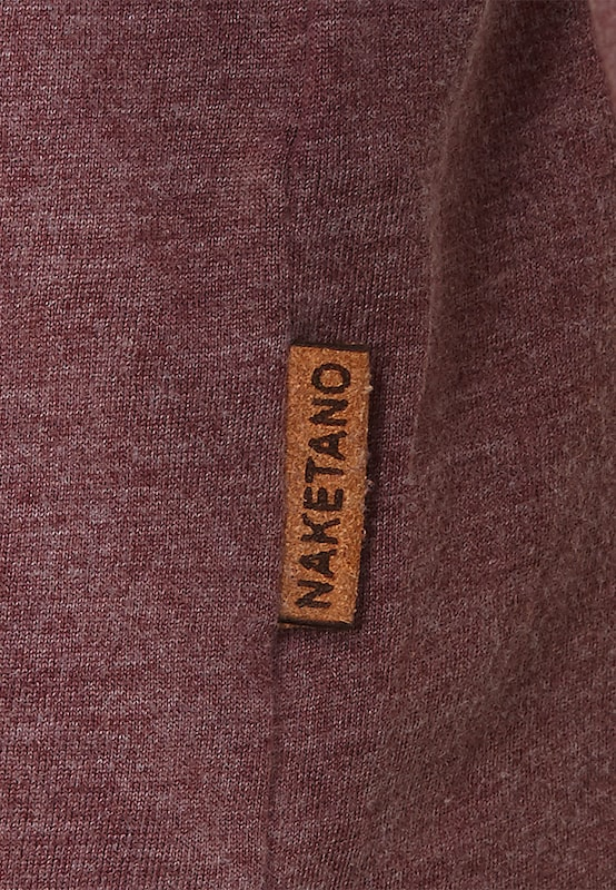 naketano Sweatshirt 'AAL Macht Anal III'