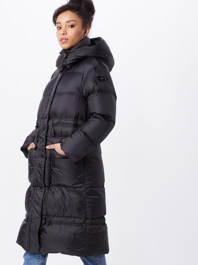 Peuterey Mantel 'Cobb' in schwarz, Modelansicht