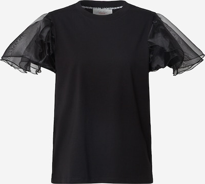 Tricou 'Nadja' Karolina Kurkova Originals pe negru, Vizualizare produs