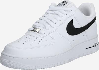 fekete / fehér Nike Sportswear Rövid szárú edzőcipők 'Air Force', Termék nézet