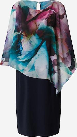 Vera Mont Robe en bleu foncé / mélange de couleurs, Vue avec produit