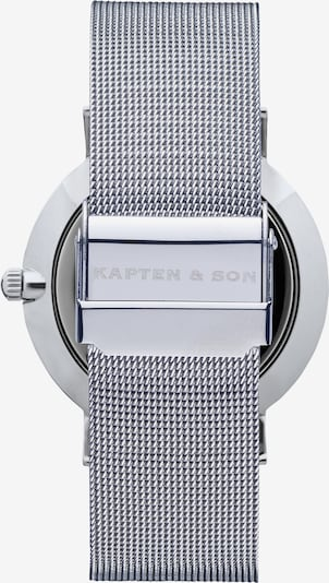 Kapten & Son Analog watch 'Campus' in silver, Item view