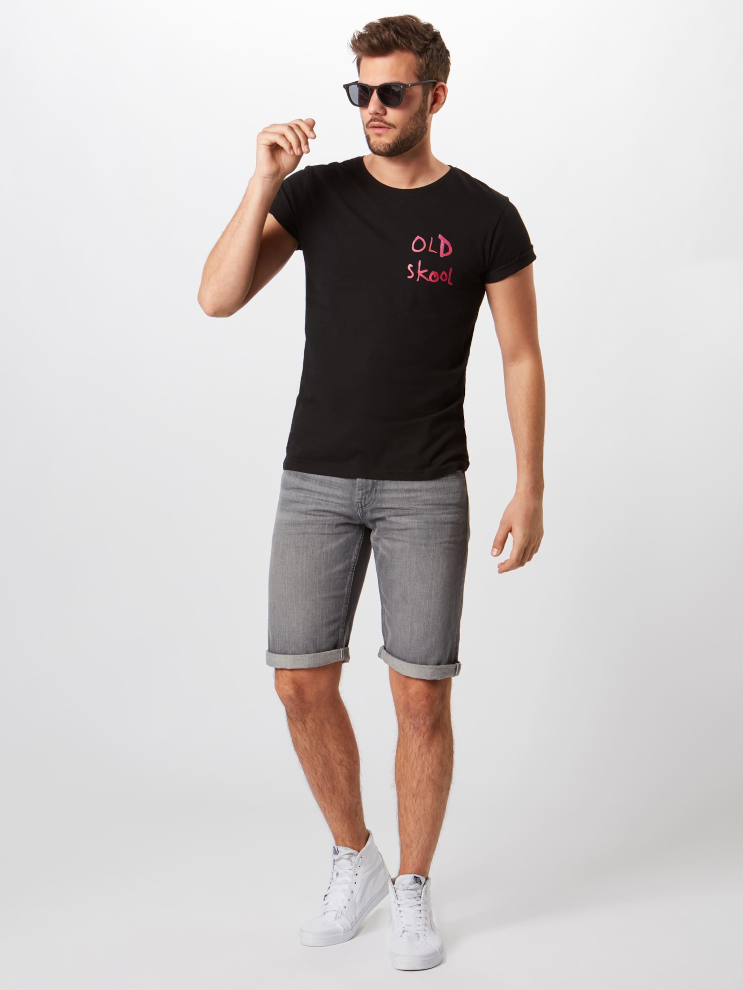 Mister Tee' GrisNoir shirt Skool 'banksy Tee Old En T ONwm0v8n