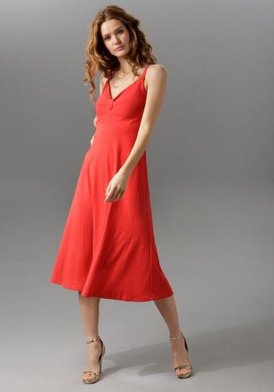 Aniston CASUAL Kleid in hellrot, Modelansicht