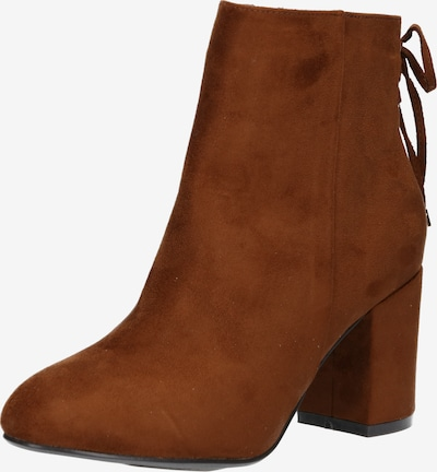 ABOUT YOU Bottines 'Azra' en marron, Vue avec produit