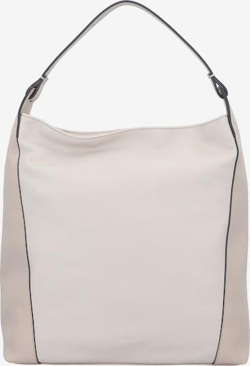 ESPRIT Schultertasche 'Carly Hobo' in beige / creme, Produktansicht