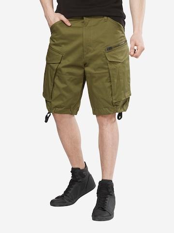G-Star RAW Klapptaskutega püksid 'Rovic', värv roheline