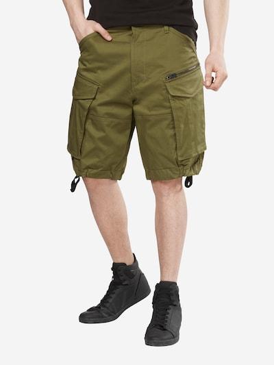 G-Star RAW Pantalon cargo 'Rovic' en vert foncé, Vue avec modèle