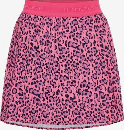J.Lindeberg Sportrok 'Chloe' in de kleur Pink / Zwart, Productweergave