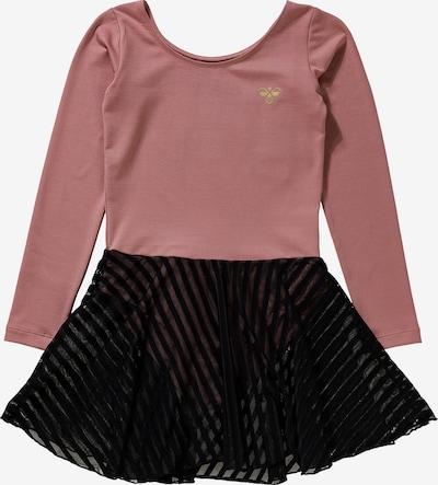 Hummel Kleid 'Mejse' in pitaya / schwarz, Produktansicht