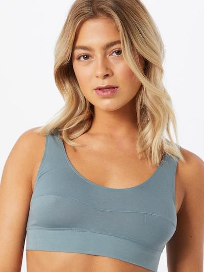 CALIDA BH 'Elastic' in de kleur Duifblauw: Vooraanzicht
