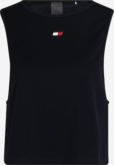 Tommy Sport Koszulka funkcyjna w kolorze niebieska nocm, Podgląd produktu