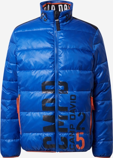 CAMP DAVID Winterjas in de kleur Royal blue/koningsblauw, Productweergave