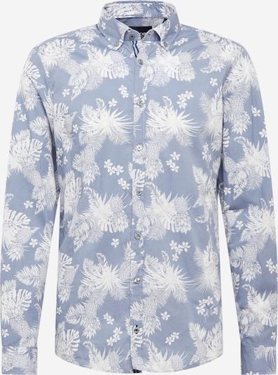 JOOP! Jeans Chemise '15 JJSH-40Haven-W' en bleu / blanc, Vue avec produit