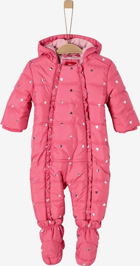 s.Oliver Overall in pink / silber, Produktansicht