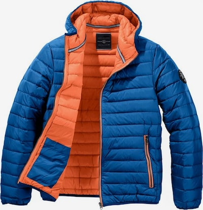 RHODE ISLAND Jacke in royalblau / orange, Produktansicht