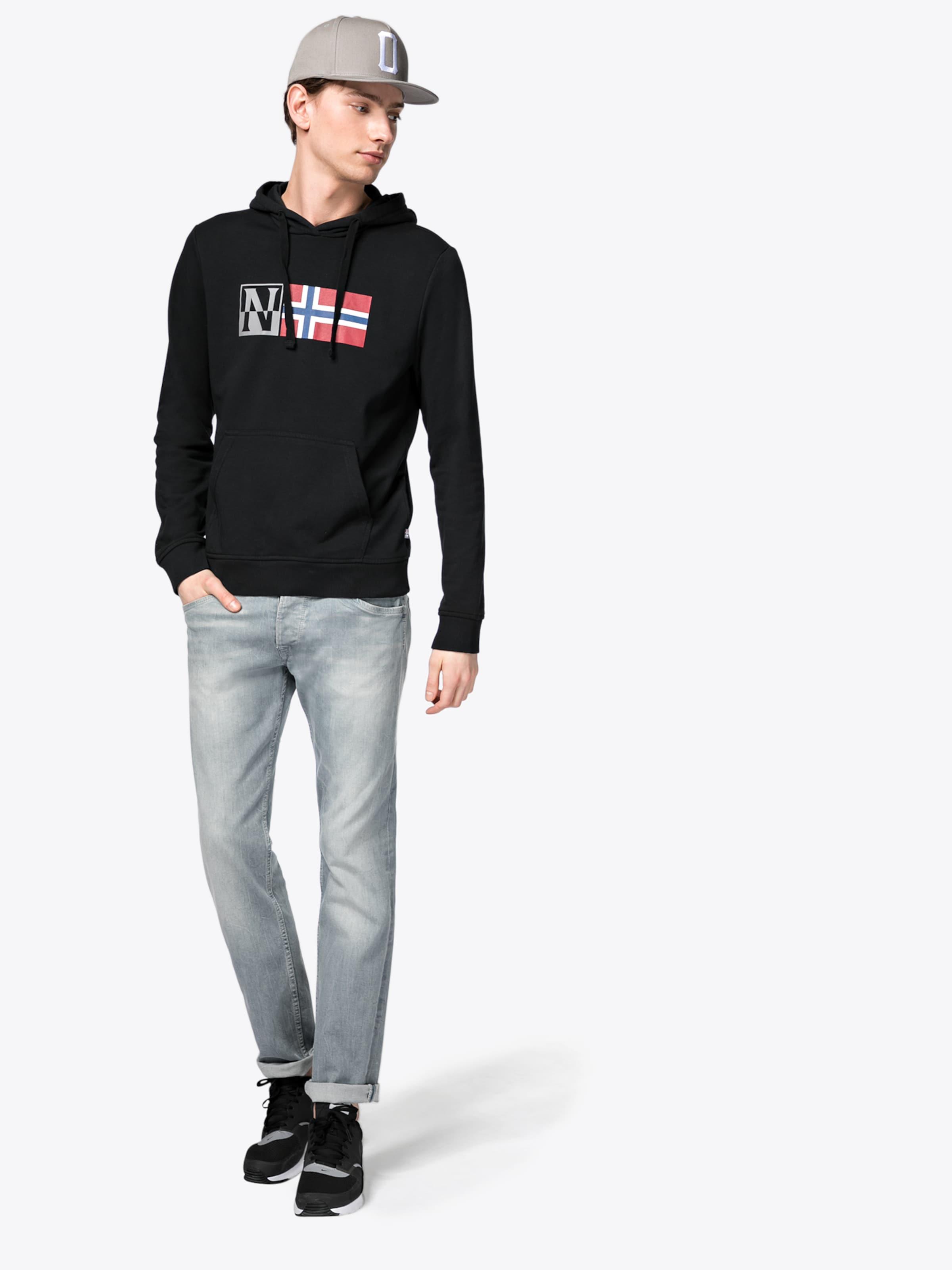 Steckdose Authentisch NAPAPIJRI Kapuzenpullover 'BENOS' Erkunden Verkauf Online Rabatt-Shop Günstig Kaufen Sneakernews Günstig Kaufen Neueste BihHwZy3