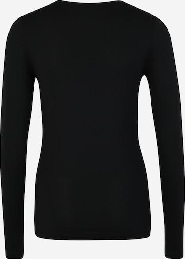 NIKE Funktionsshirt in schwarz / weiß: Rückansicht