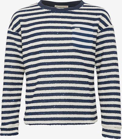 Pepe Jeans Sweatshirt 'BARBARA JR' in dunkelblau / weiß, Produktansicht