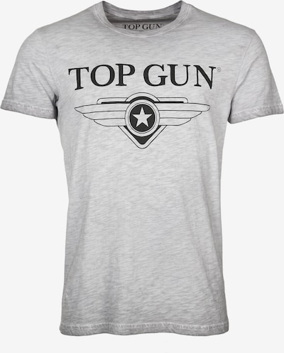 TOP GUN T-Shirt ' Windy ' in grau, Produktansicht