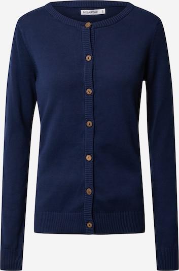 MELAWEAR Gebreid vest in de kleur Blauw / Donkerblauw, Productweergave