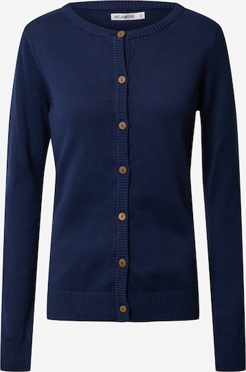 MELAWEAR Adīta jaka zils / tumši zils, Preces skats