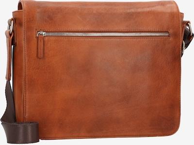 LEONHARD HEYDEN Schoudertas 'Amsterdam' in de kleur Cognac, Productweergave