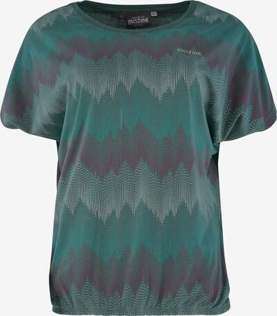 mazine T-Shirt 'Celina T' in anthrazit / petrol, Produktansicht