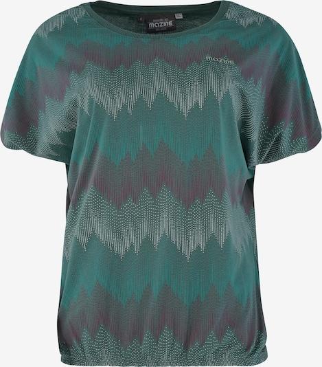mazine Shirt 'Celina T' in Antraciet / Petrol 334zmp6y