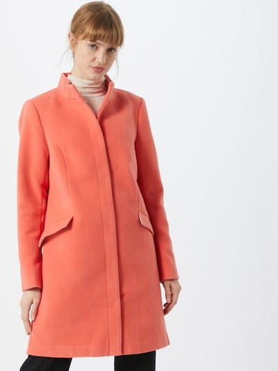 STREET ONE Mantel 'cosy coat w. stand up collar' in koralle, Modelansicht