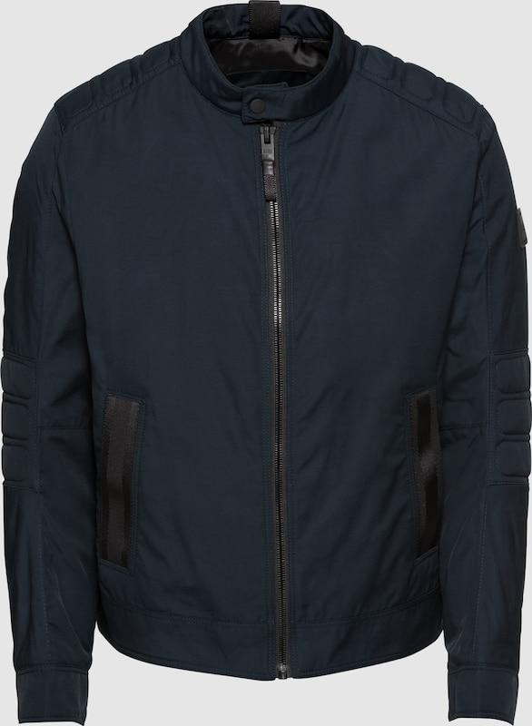BOSS Jacke 'Omsa 10212375 01' in dunkelblau  Markenkleidung für Männer und Frauen