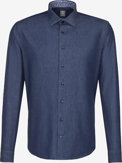 Jacques Britt Hemd 'Perfect Fit' in blau, Produktansicht