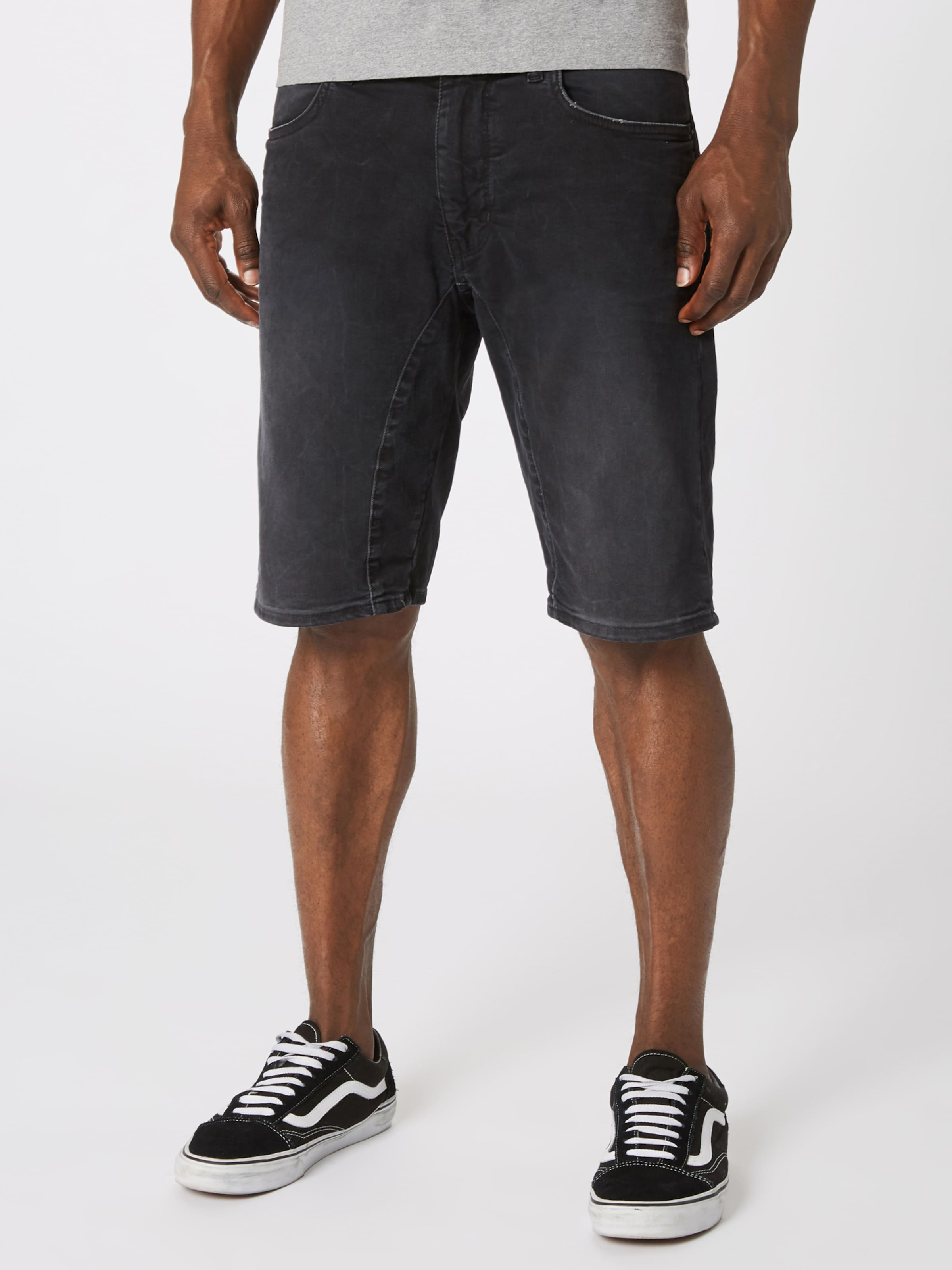 Black Denim 'seek' In Shorts Drykorn vmIyfgYb76