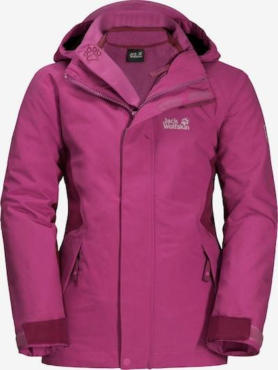 JACK WOLFSKIN Winterjacke 'Polar Wolf' in pink, Produktansicht