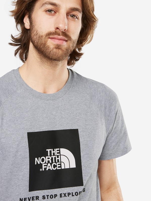 THE NORTH FACE T-Shirt 'M S/S RAG RED BOX'