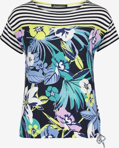 Betty Barclay Ringelshirt mit Blumenprint in dunkelblau / weiß, Produktansicht