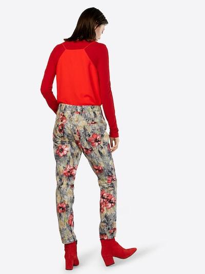 G-Star RAW Jeans in grau / pastellgrün / hellrot / schwarz: Rückansicht