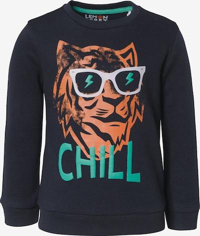 LEMON BERET Sweatshirt in nachtblau / mischfarben, Produktansicht